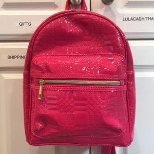 Handbags - Hot pink backpack NWOT